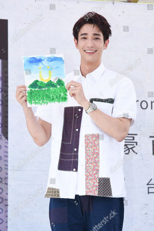 Editorial picture of Jasper Liu attends a conference to promote his first EP, Taipei, Taiwan, China - 06 Sep 2020