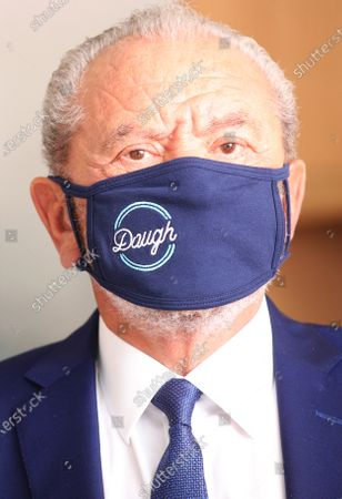 Lord Alan Sugar opens a new branch of Dough Bakehouse.
