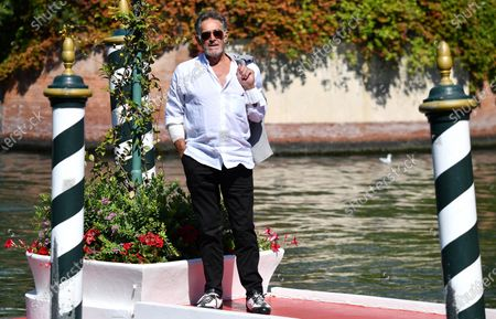 Fabio Testi arrives at Lido Beach for the 77th annual Venice International Film Festival, in Venice, Italy, 08 September 2020. The 77th edition of the festival runs from 02 to 12 September 2020.