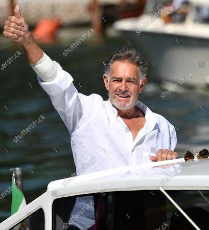 Editorial photo of Lido Beach - 77th Venice Film Festival, Italy - 08 Sep 2020