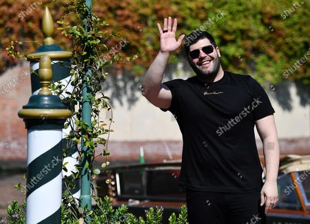 Salvatore Esposito arrives at Lido Beach for the 77th annual Venice International Film Festival, in Venice, Italy, 08 September 2020. The 77th edition of the festival runs from 02 to 12 September 2020.