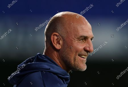 Stock Image of Arsenal U21 Head Coach Steve Bould