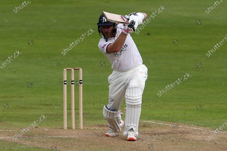 Stock Photo of Ian Bell of Warwickshire batting.