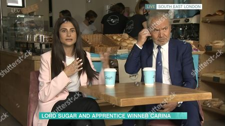 Editorial image of 'This Morning' TV Show, London, UK - 08 Sep 2020