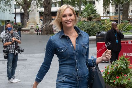 Editorial photo of Jenni Falconer out and about, London, UK - 08 Sep 2020