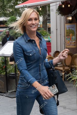 Editorial picture of Jenni Falconer out and about, London, UK - 08 Sep 2020