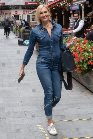 Editorial image of Jenni Falconer out and about, London, UK - 08 Sep 2020