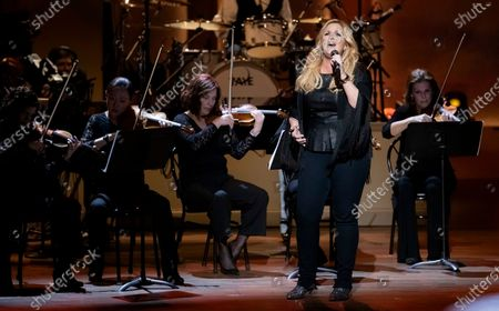 Trisha Yearwood performs on stage during the Gershwin Prize Honoree's Tribute Concert, in Washington. Yearwood turns 56 on Sept. 19
