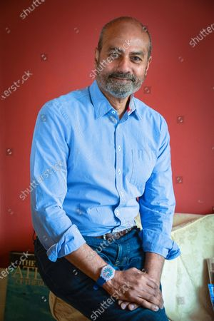 Editorial picture of 'My Haven' George Alagiah photoshoot, London, UK - 04 Oct 2019