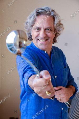 Editorial picture of 'My Haven' Giorgio Locatelli photoshoot, London, UK - 04 Dec 2019