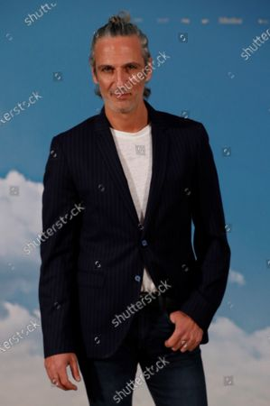 Argentinian actor Ernesto Alterio poses during the photocall for the presentation of the film 'A normal world' (Un mundo normal), in Madrid, Spain, 08 September 2020.