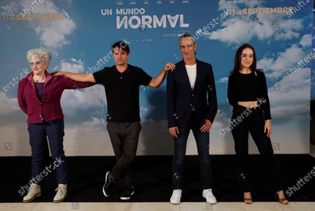 Editorial photo of Presentation of the film 'A normal world', Madrid, Spain - 08 Sep 2020