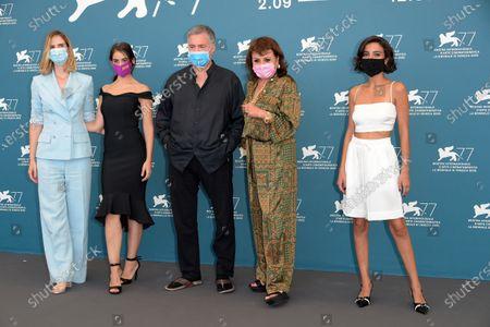 Amos Gitai, Bahira Ablassi, Maria Zreik, Hana Laszlo, Naama Preis