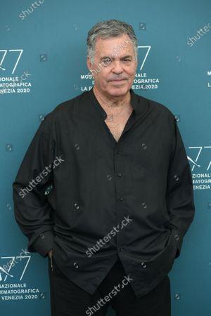 The director Amos Gitai