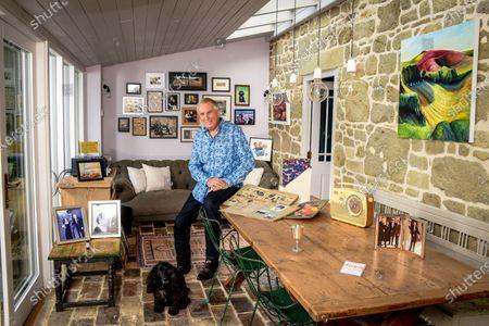 Editorial image of 'My Haven' Johnnie Walker photoshoot, Dorset, UK - 23 Oct 2019