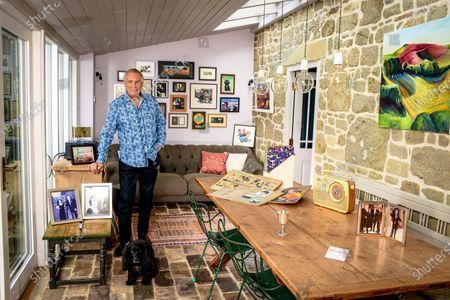 Editorial photo of 'My Haven' Johnnie Walker photoshoot, Dorset, UK - 23 Oct 2019