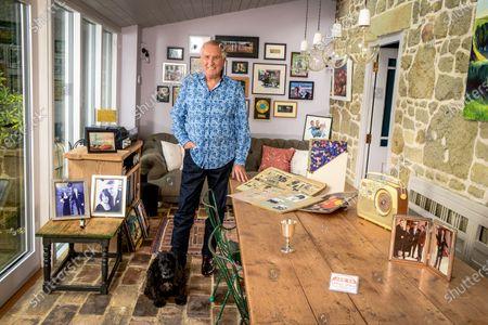 Editorial picture of 'My Haven' Johnnie Walker photoshoot, Dorset, UK - 23 Oct 2019