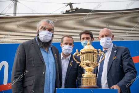 Editorial image of Rugby World Cup 2023 presentation, Paris, France - 08 Sep 2020