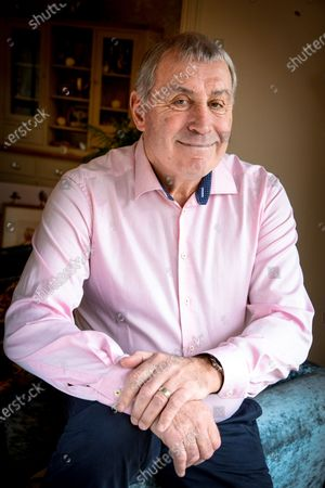 Editorial photo of 'My Haven' Peter Shilton photoshoot, Essex, UK - 21 Feb 2020