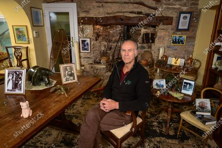 Editorial image of 'My Haven' Ranulph Fiennes photoshoot, Devon, UK - 29 Oct 2019