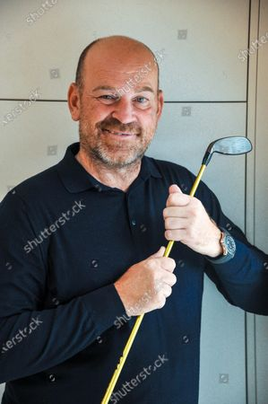 Stock Photo of Thomas Bjorn Professional Golfer