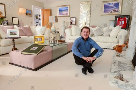 Tony McCoy 'My Haven' Living Room of his Berkshire Home -23.10.2019 20th Champion jockey trophy & his SPOTY trophyA unique Grand National memory bookA silver cannon received from Arsenal FC & signed Arsenal shirtA poem by Seamus HeaneyPhoto with Mum & Dad, Brothers & SistersPhoto with wife Chanelle, kids Eve & Archie after receiving his Knighthood.Photo with Wife ChanelleWall of Fame (outside the living room door)