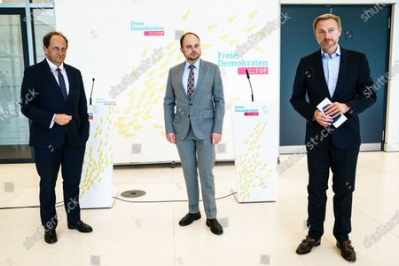Editorial picture of FDP faction meeting, Berlin, Germany - 08 Sep 2020