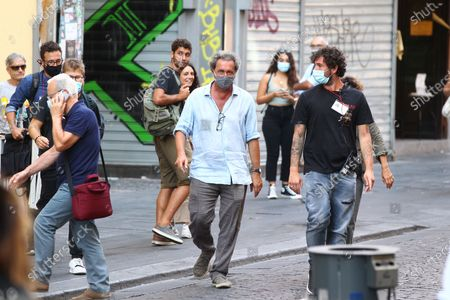 Editorial photo of Director Paolo Sorrentino films in Naples, Italy - 07 Sep 2020