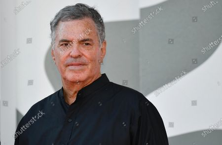 Amos Gitai arrives for the premiere of 'Laila in Haifa' during the 77th Venice Film Festival in Venice, Italy, 08 September 2020. The movie is presented in the official competition 'Venezia 77' at the festival running from 02 to 12 September.