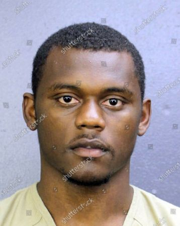 This booking photo provided by the Broward County, Fla., Sheriff's Office, shows DeAndre Baker. The Giants have waived cornerback DeAndre Baker with the 22-year-old facing armed robbery charges relating to an incident in Florida in May. The Giants announced the move on Tuesday, Sept. 8, 2020, less than a week after co-owner John Mara said the team was close to a decision on Baker's future with the club