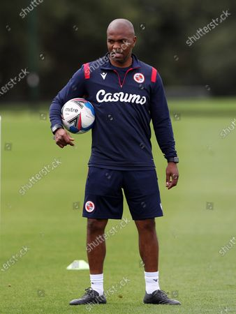 Editorial picture of Reading FC Players Training at Bearwood Park the home of Reading FC, Mole Road, Sindlesham, Berkshire, UK. 8 SEP 2020