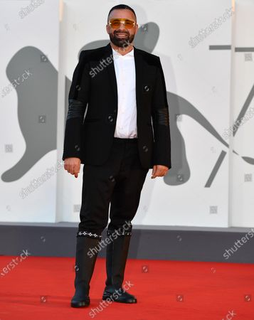Luca Tommassini arrives for the premiere of 'Notturno' during the 77th annual Venice International Film Festival, in Venice, Italy, 08 September 2020. The movie is presented in Official Competition 'Venezia 77' at the festival running from 02 September to 12 September.