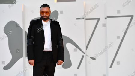 Stock Picture of Luca Tommassini arrives for the premiere of 'Notturno' during the 77th annual Venice International Film Festival, in Venice, Italy, 08 September 2020. The movie is presented in Official Competition 'Venezia 77' at the festival running from 02 September to 12 September.