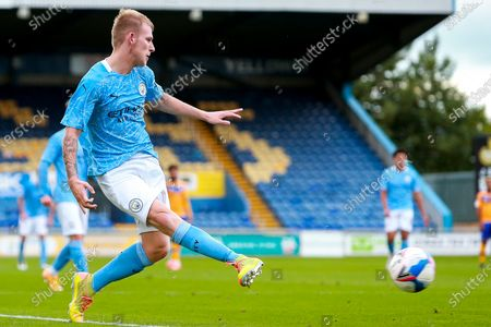 Editorial image of Mansfield Town v Manchester City U21, UK - 08 Sep 2020