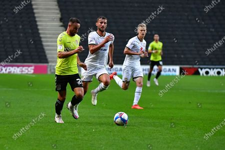 Editorial photo of Luton Town v Norwich City, EFL Cup - 08 Sep 2020