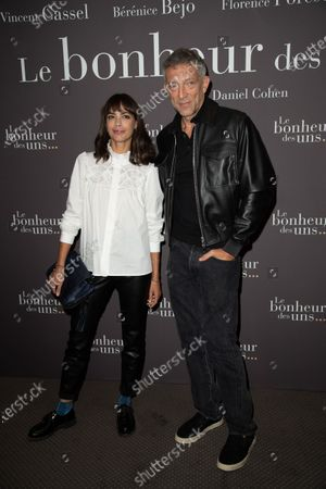 Berenice Bejo and Vincent Cassel