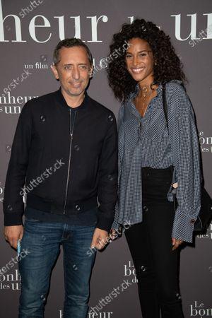 Gad Elmaleh and Cindy Bruna