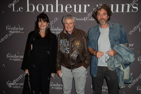 Valerie Perrin, Claude Lelouch and Simon Lelouch