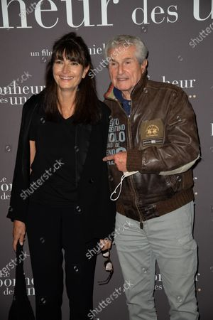 Valerie Perrin and Claude Lelouch