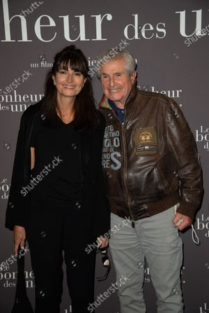 Stock Photo of Valerie Perrin and Claude Lelouch