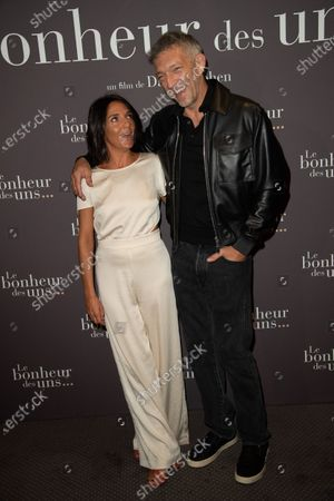 Florence Foresti and Vincent Cassel
