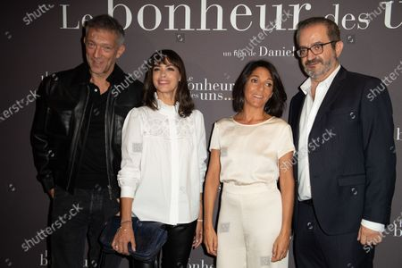 Vincent Cassel, Berenice Bejo, Florence Foresti and Daniel Cohen