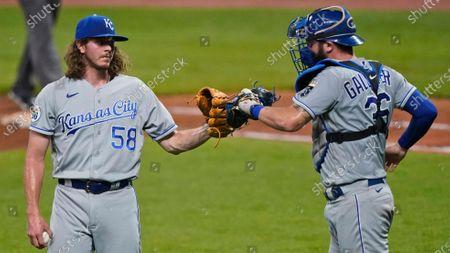 Editorial image of Royals Indians Baseball, Cleveland, United States - 08 Sep 2020