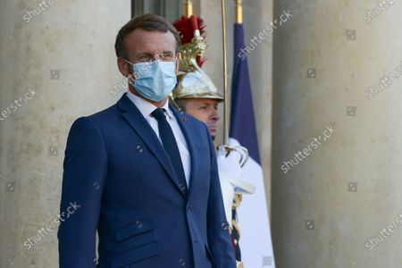 Editorial picture of Macron meets with King of Jordan at Elysee Palace, Paris, France - 08 Sep 2020
