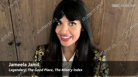 Jameela Jamil hosts the 13th Annual Television Academy Honors, streaming on TelevisionAcademy.com on at 9:00 PM ET/6:00 PM PT, and celebrating the producers, programs and platforms that have harnessed the power of television to create positive social change