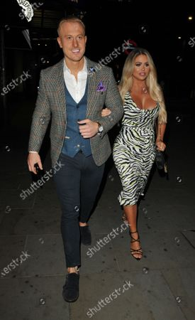 Kris Boyson and Bianca Gascoigne