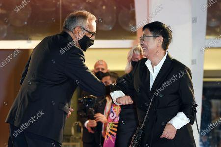 Alberto Barbera and Ann Hui