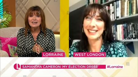 Stock Photo of Lorraine Kelly and Samantha Cameron