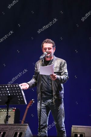 The Muro del Canto in concert at the Cavea of the Parco della Musica with the participation of Vinicio Marchioni. Daniele Coccia Paifelman on vocals.