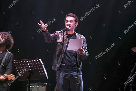Editorial photo of The Muro del Canto in concert, Cavea, Roma, Italy - 08 Sep 2020